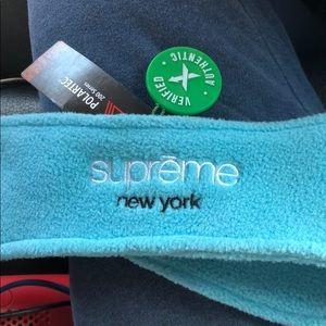 Blue Supreme Polartec Headband